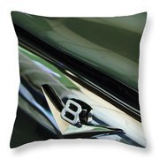 1956 Ford F-100 Truck Emblem 3 Throw Pillow