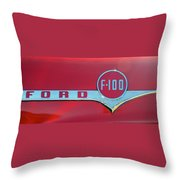 1956 Ford F100 Throw Pillow