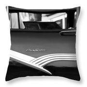 1956 Ford Fairlane Club Sedan Throw Pillow