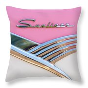 1956 Ford Fairlane Sunliner Throw Pillow