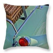 1957 Bmw Isetta 300 Motocoupe Taillight Throw Pillow