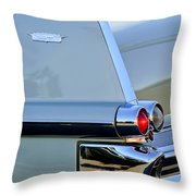 1957 Cadillac Taillight Throw Pillow