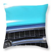 1957 Chevrolet Bel Air Classic Car Panoramic Fine Art Photo  Throw Pillow