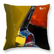 1957 Chevrolet Taillight Throw Pillow