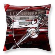 1957 Dash Throw Pillow