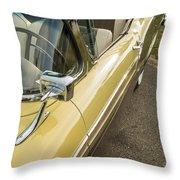 1957 Ford Fairlane 500 Skyliner Retractable Hardtop Convertible Throw Pillow
