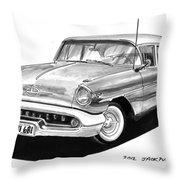 Oldsmobile Super 88 Throw Pillow