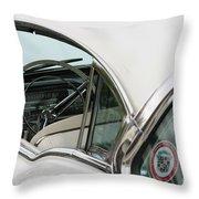 1958 Cadillac Throw Pillow