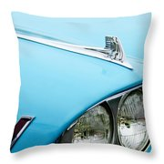 1958 Chevrolet Impala Fender Spear Throw Pillow