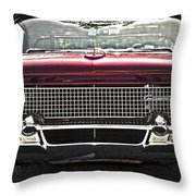 1958 Lincoln Continental Throw Pillow