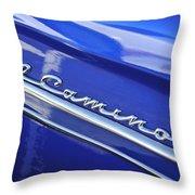 1959 Chevrolet El Camino Emblem Throw Pillow