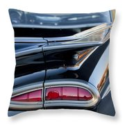 1959 Chevrolet Taillight Throw Pillow