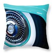 1959 Ford Ranchero Wheel Emblem Throw Pillow