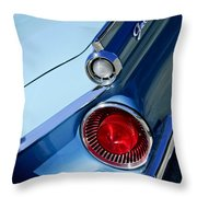 1959 Ford Skyliner Convertible Taillight Throw Pillow
