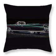1960 Cadillac Eldorado Biarritz Convertible Throw Pillow
