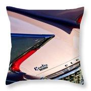1960 Cadillac Eldorado Taillights Throw Pillow