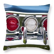 1960 Chevrolet Impala Tail Light Throw Pillow