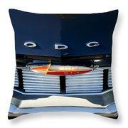 1960 Dodge Grille Emblem Throw Pillow