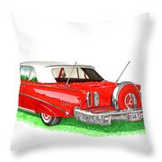 1960 Edsel Ranger Continental Kit Throw Pillow