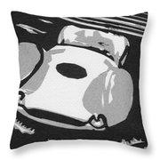 1960 Maserati T 61 Birdcage Throw Pillow