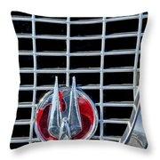 1960 Studebaker Hawk Coupe Emblem Throw Pillow
