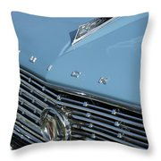 1961 Buick Grille Emblem Throw Pillow