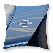 1961 Chevrolet Corvette Zob  Throw Pillow