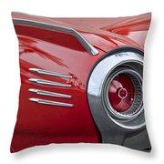 1961 Ford Thunderbird Taillight Throw Pillow