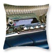 1961 Pontiac Catalina Radio Throw Pillow