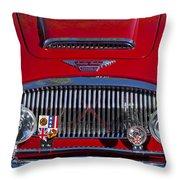 1962 Austin-healey 3000 Mkii Grille Throw Pillow