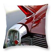 1962 Cadillac Eldorado Taillight Throw Pillow