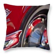 1962 Chevrolet Impala 409 Emblem Throw Pillow