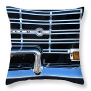 1962 Chevrolet Nova Grille Emblem Throw Pillow