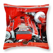 1962 Chevy Make-over Throw Pillow