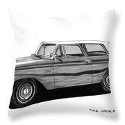 1962 Rambler American Throw Pillow