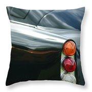 1963 Aston Martin Db4 Series V Vantage Gt Tail Light Throw Pillow by Jill Reger