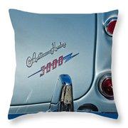 1963 Austin-healey Taillight Throw Pillow