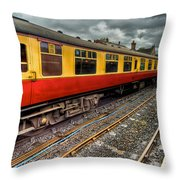 1963 Carriage  Throw Pillow