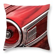 1963 Ford Galaxie 500 Throw Pillow