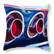 1964 Chevrolet Impala Ss Taillight 2 Throw Pillow