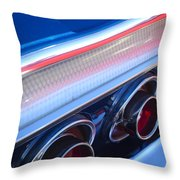 1964 Chevrolet Impala Ss Taillight Throw Pillow
