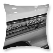 1964 Ford Galaxie 500 Xl Throw Pillow