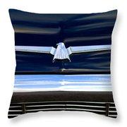 1964 Ford Thunderbird Emblem Throw Pillow