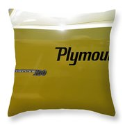 1964 Plymouth Valiant Throw Pillow
