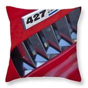 1965 Ac Cobra Emblem 2 Throw Pillow