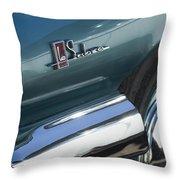 1965 Buick Lasabre Emblem Throw Pillow