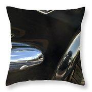 1965 Ford Mustang Emblem 3 Throw Pillow