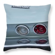 1966 Chevrolet Corvette Tail Light 2 Throw Pillow