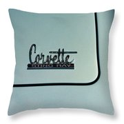 1966 Corvette Sting Ray Throw Pillow