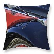 1966 Volkswagen Vw Bug Throw Pillow